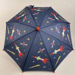 Børneparaply med rumraketter small 2