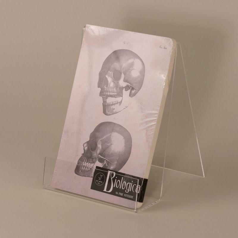 Notesbog med kranie 1