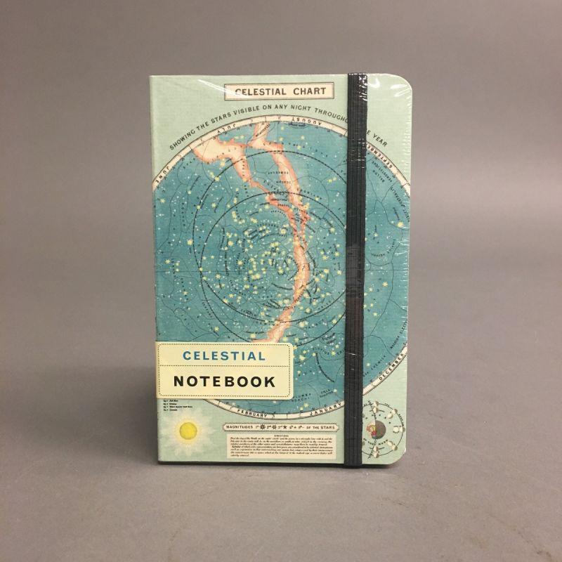 Notesbog med stjernehimmel 1