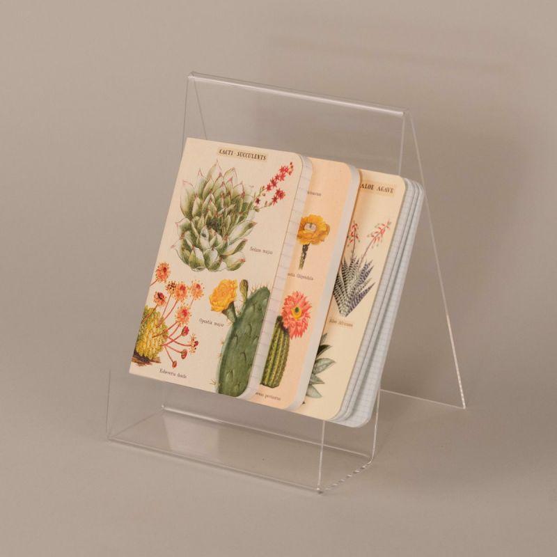 Notesbog med kaktus, sæt a 3 stk. 1