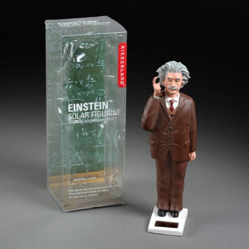Solcellefigur Einstein 1