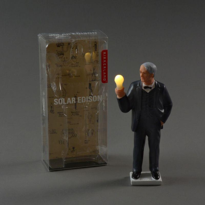 Solcellefigur Edison 3