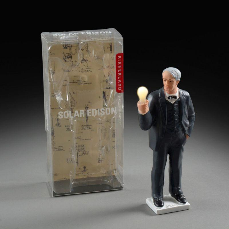 Solcellefigur Edison 2