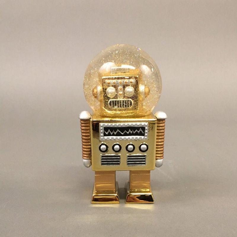 Robot-glimmerkugle, guld 1