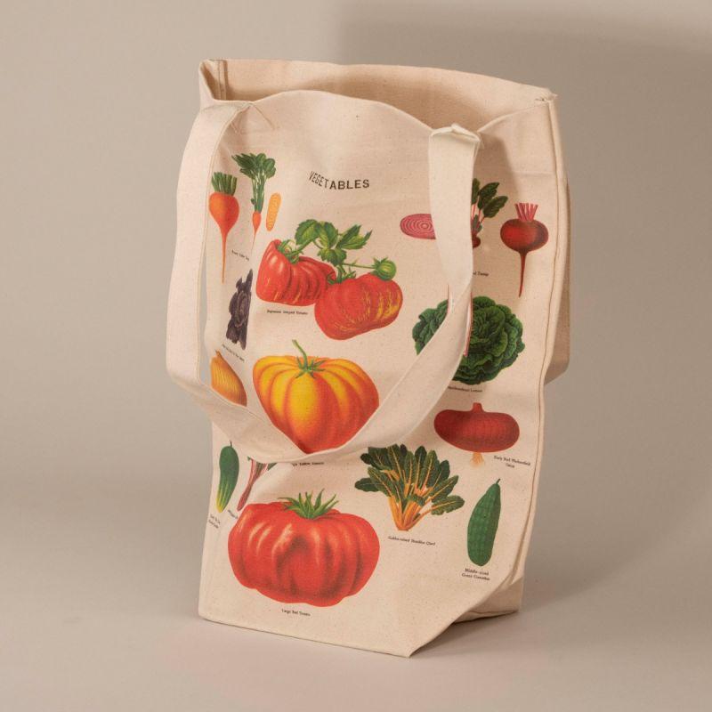 Indkøbsnet med motiv af grønsager 1