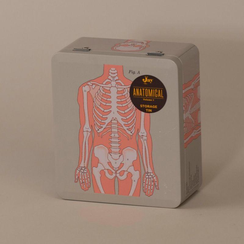 Madkasse med skelet 1