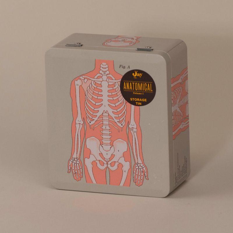 Madkasse med skelet 2
