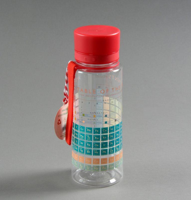 Vandflaske med det periodiske system 1