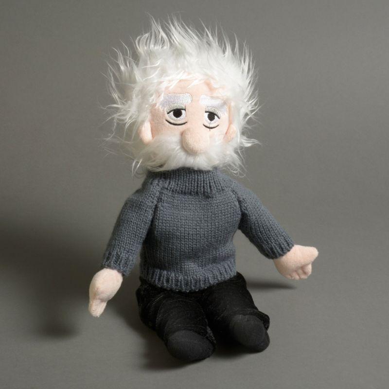 Albert Einstein kludedukke 1
