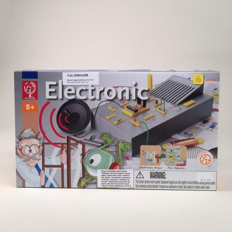 Elektroniksæt 6 eksperimenter 1
