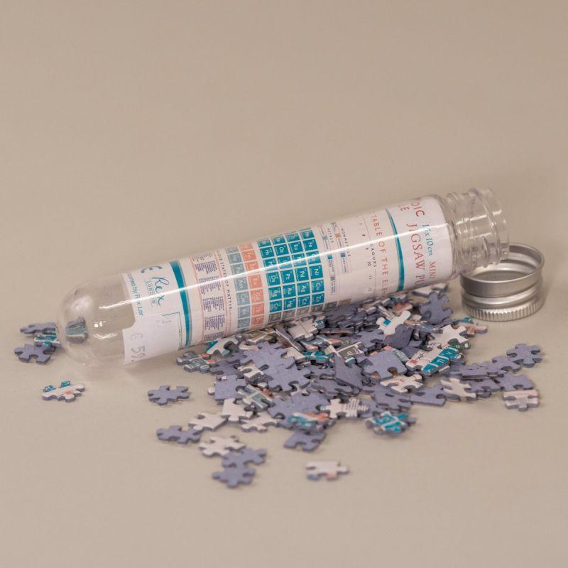 Lille puslespil med det periodiske system 1