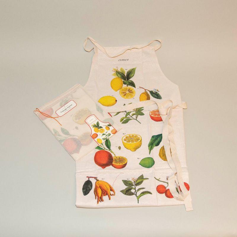 Forklæde citrusfrugter 1