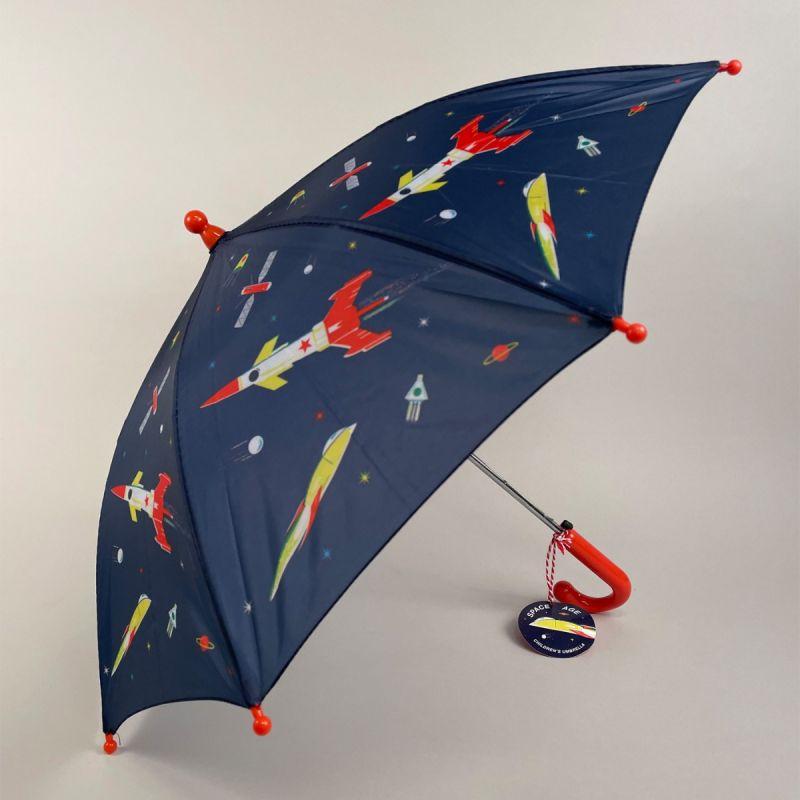 Børneparaply med rumraketter 1
