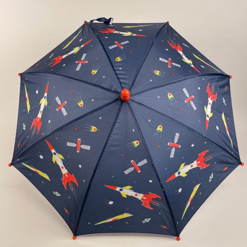 Børneparaply med rumraketter 2
