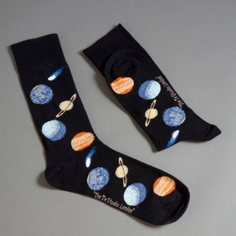 Strømper med solsystemet 1