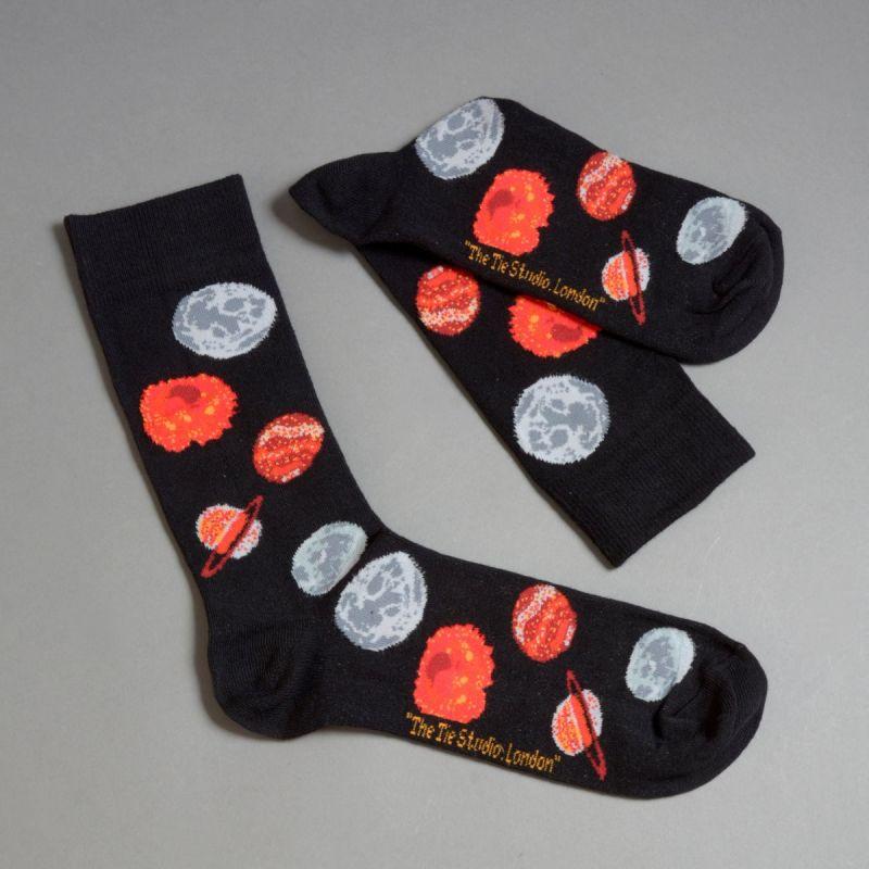 Strømper med røde planeter 2