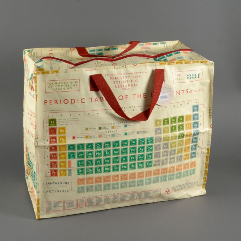 Indkøbstaske det periodiske system stor 1