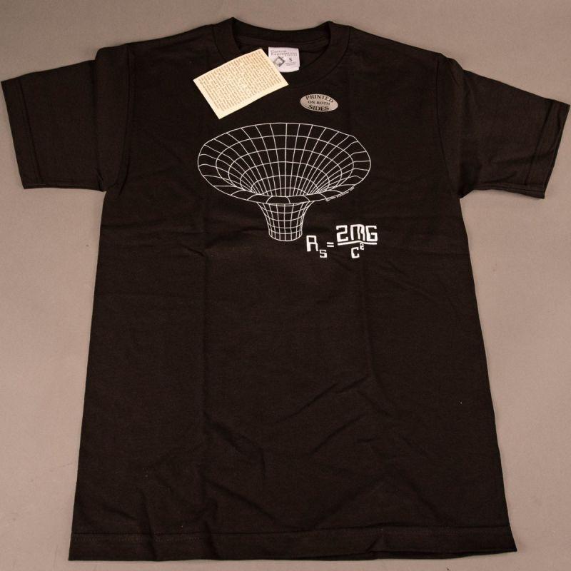 T-shirt Sort Hul 1