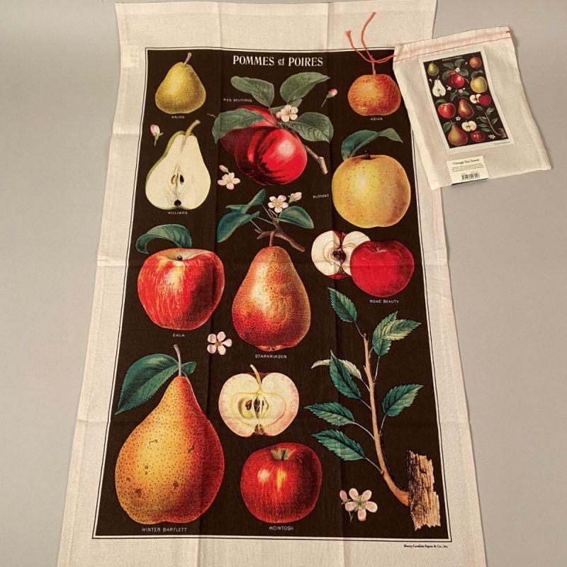 Viskestykke æbler og pærer 1