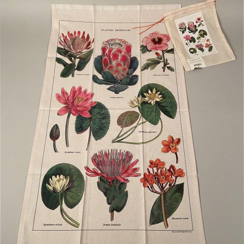 Viskestykke tropiske planter 1