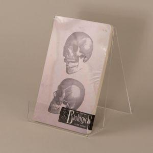 Notesbog med kranie
