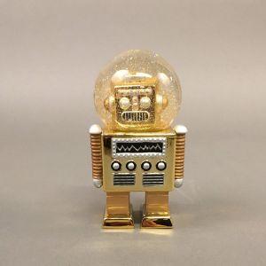 Robot-glimmerkugle, guld