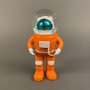 Marstronaut-glimmerkugle, lille, front