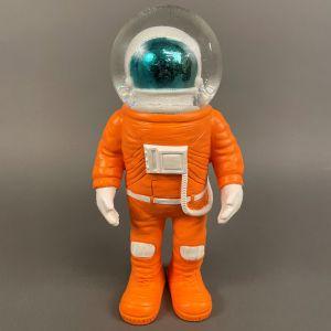 Marstronaut-glimmerkugle, stor, front