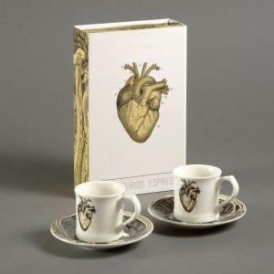 Espresso kopsæt hjertet