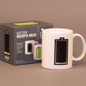 Krus med batteri