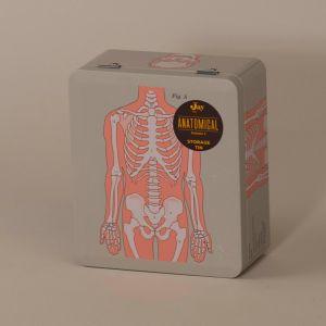 Madkasse med skelet