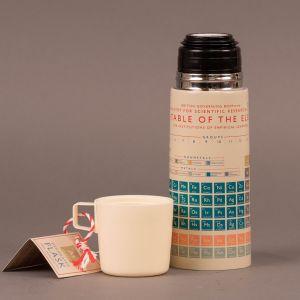 Termoflaske med det periodiske system