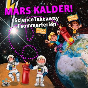 ScienceTakeaway, familiepakke med sjove aktiviteter