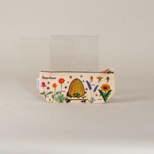 Penalhus bier og blomster