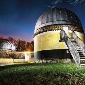Ole Rømer-Observatoriet i Højbjerg. Foto: Maria Randima