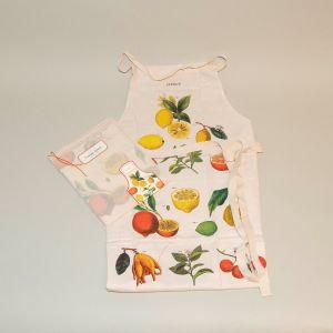 Forklæde citrusfrugter
