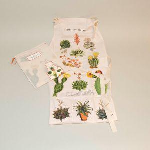 Forklæde kaktus/sukkulenter