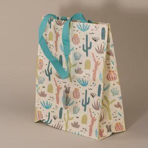Indkøbstaske kaktus lille