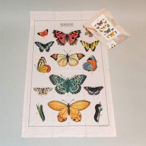 Viskestykke sommerfugl