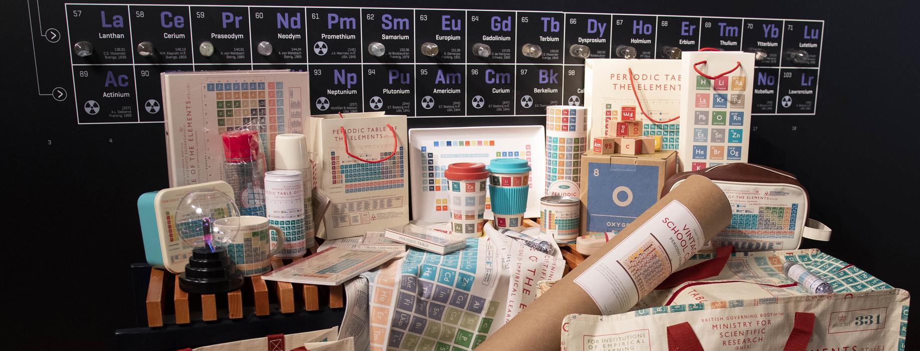 Science Museernes webshop...
